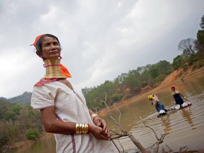 Традиции племени Kayan.