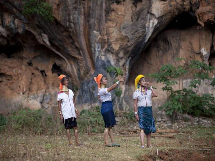 Племя Kayan.