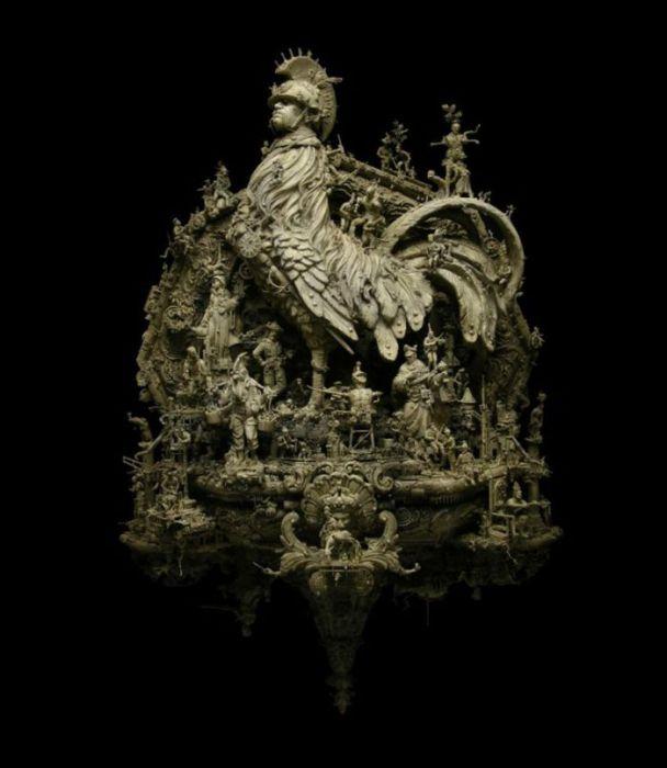 Оригинальные скульптуры Kris Kuksi