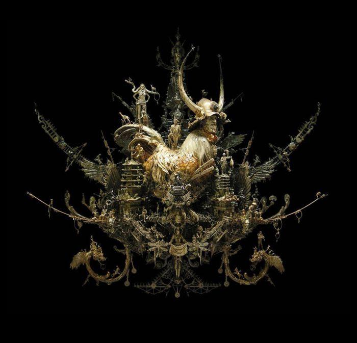 Невероятные металлические скульптуры Kris Kuksi
