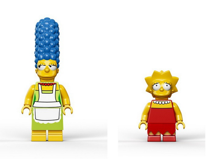 Герои конструктора Лего