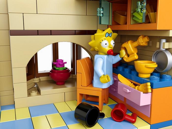 Набор конструктора Lego Simpsons
