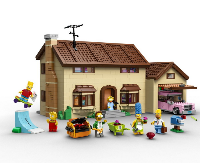 Набор Lego Simpsons