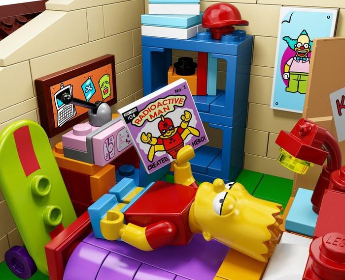 Персонажи конструктора Lego, Simpsons