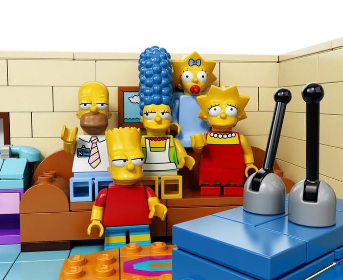 Lego, Simpsons