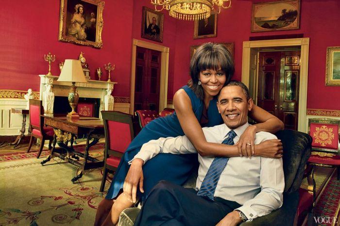 Annie Leibovitz: Барак и Мишель Обама