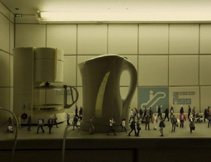 Коллективное чаепитие