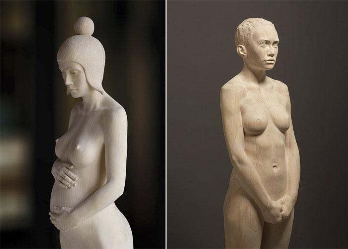 Mario Dilitz и его деревянные скульптуры