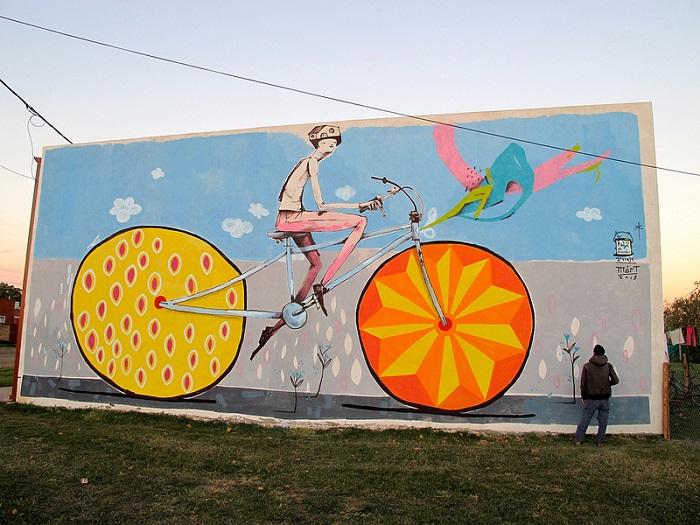 Велосипеды от художника Mart