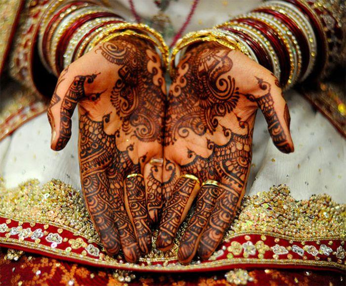 Mehndi - роспись тела хной
