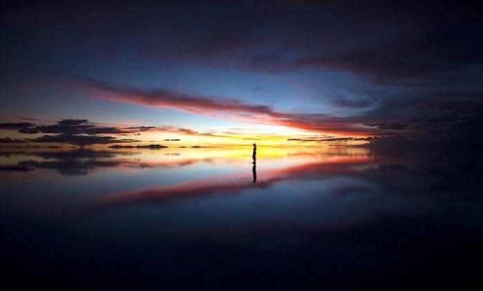 Солончак Уюни в Боливии от Michael Kittell