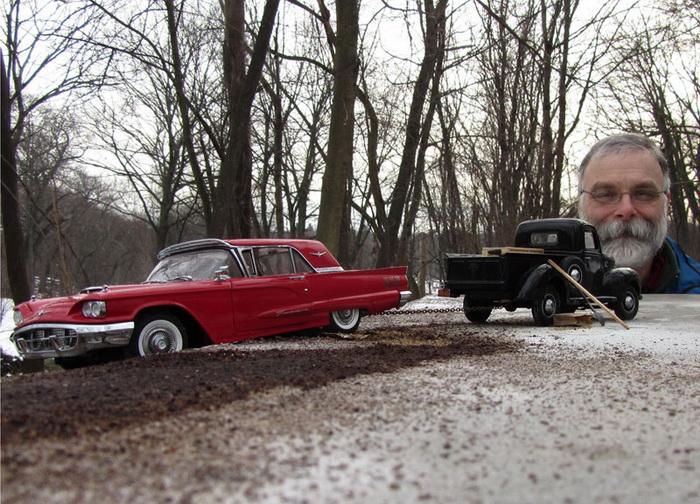 Макеты старинных автомобилей от Michael Paul Smith: не верь глазам своим