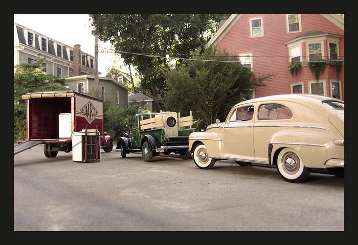 автомобили 20 века от фотографа Michael Paul Smith