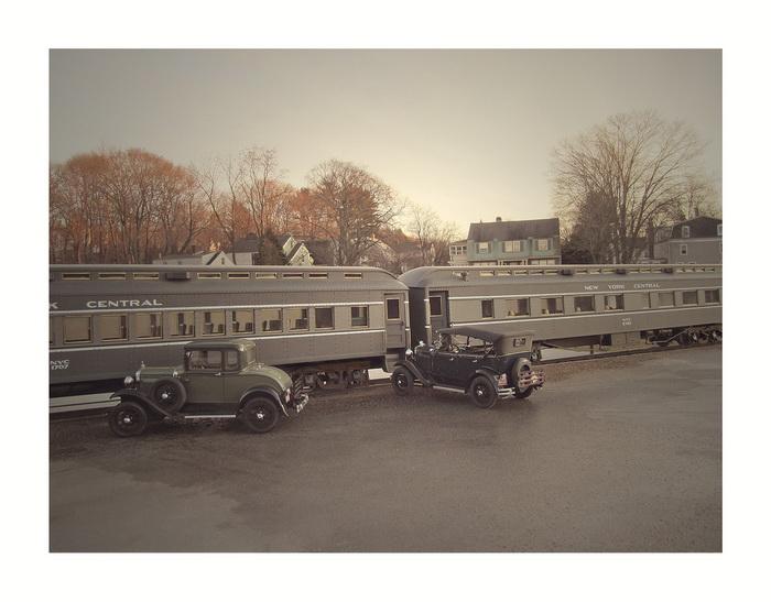 Макеты старинных автомобилей от фотографа Michael Paul Smith
