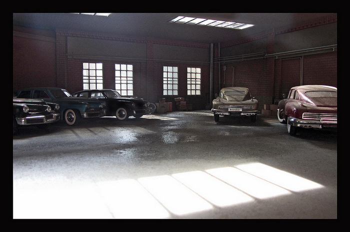 Michael Paul Smith: автомобили прошлых лет