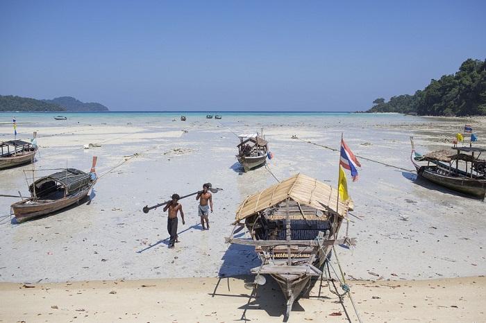 Морские кочевники Таиланда  Moken