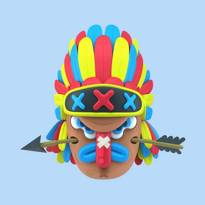 Коллекция в формате 3D «Mucho Macho»