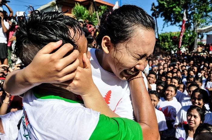 День поцелуя на Бали.