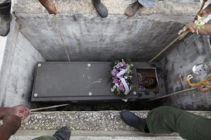 Погребение на Кубе