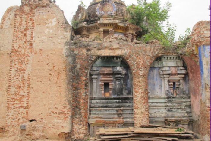 Уникальный разрушенный храм