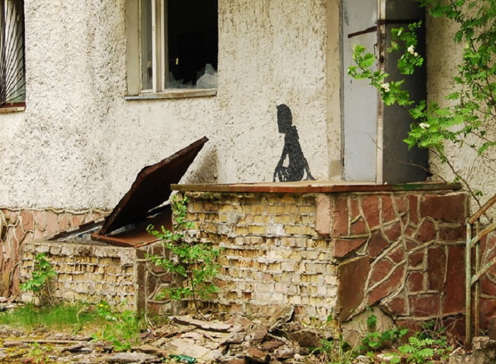 Рисунки Чернобыля.