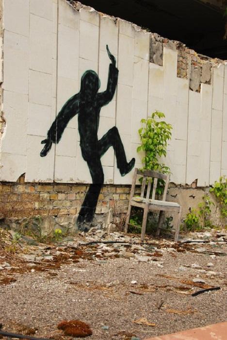 Припять: красноречивые граффити.