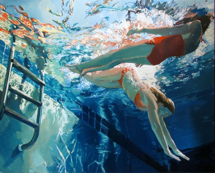 Девушки под водой от художницы Samantha French