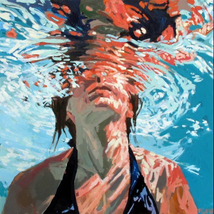 Девушка под водой, Samantha French