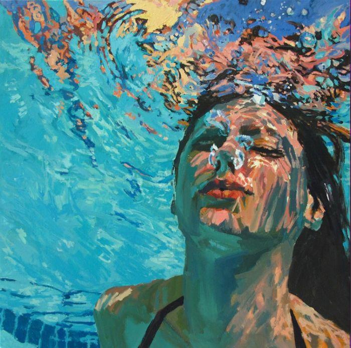 Подводный портрет