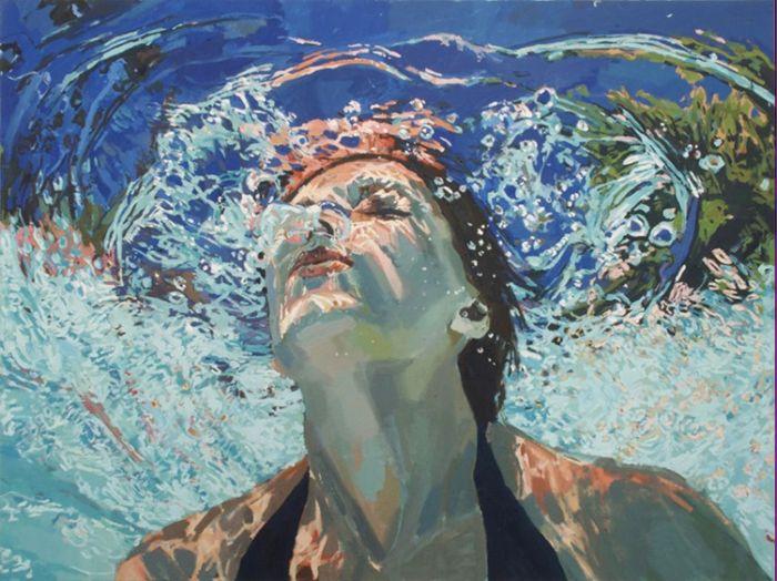 Портрет под водой от Samantha French