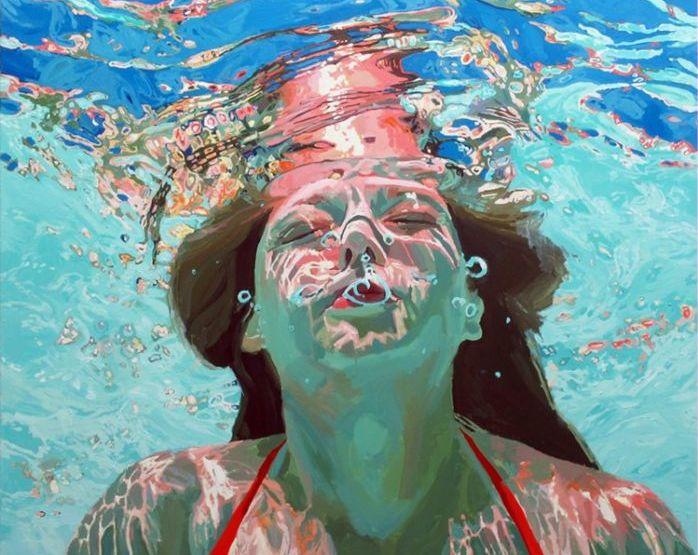 Подводные портреты от Samantha French