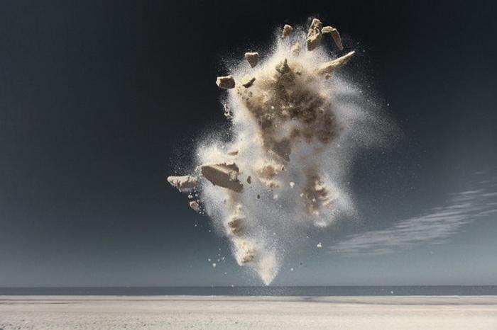 Бык из песка