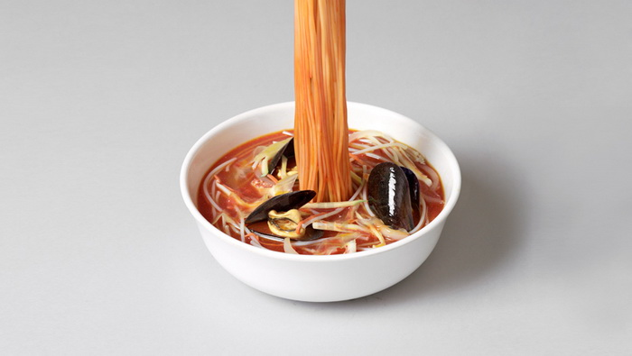 Блюда с лапшой от Seung Yul Oh