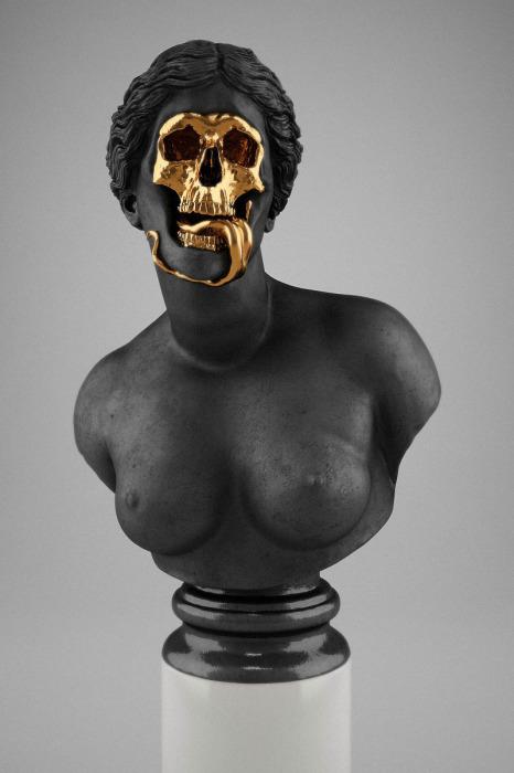 проект «Skull-ptures» от скульптора Hedi Xandt