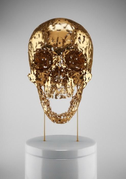 проект «Skull-ptures» от Hedi Xandt
