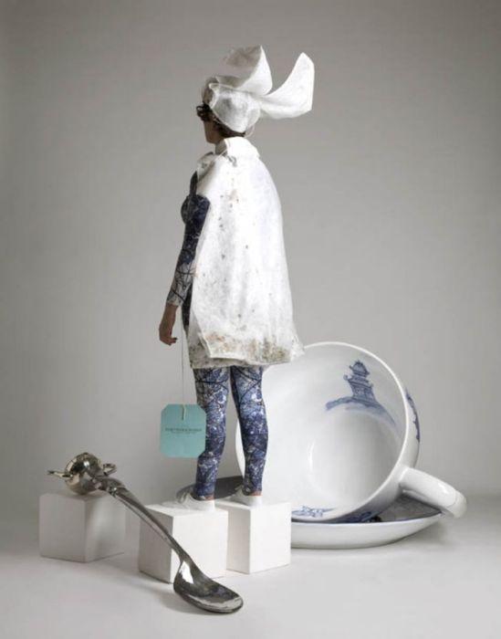Чайная церемония Алисы в стране чудес