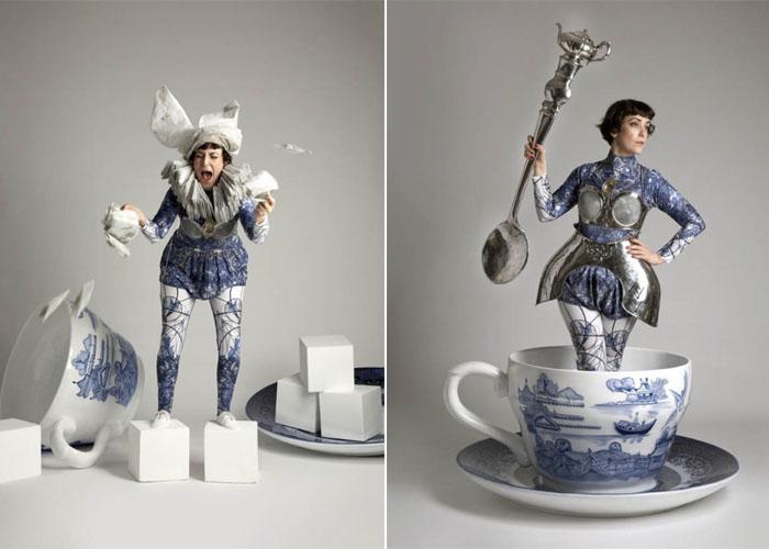 Чайная церемония в стиле сказки