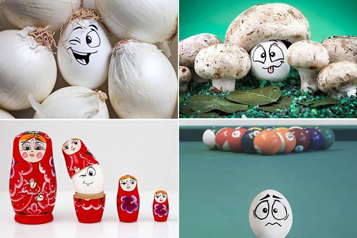 Веселые яйца от Vanessa Dualib