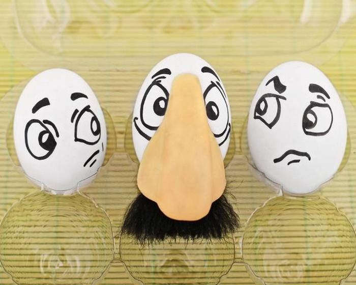 Vanessa Dualib: веселые яйца