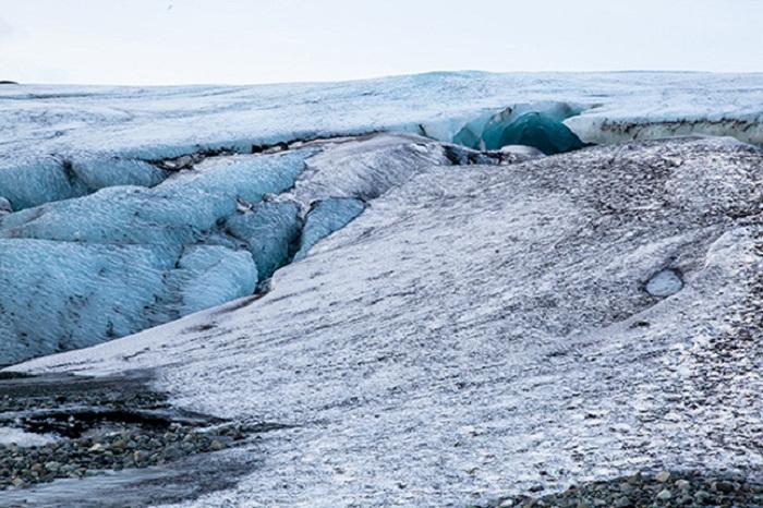 Ледник в Исландии