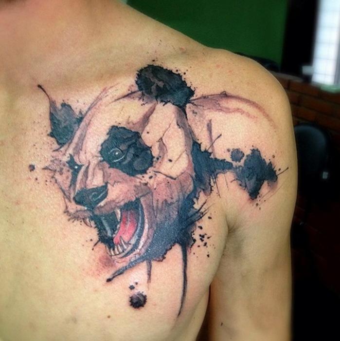 Фантастические татуировки Victor Octaviano