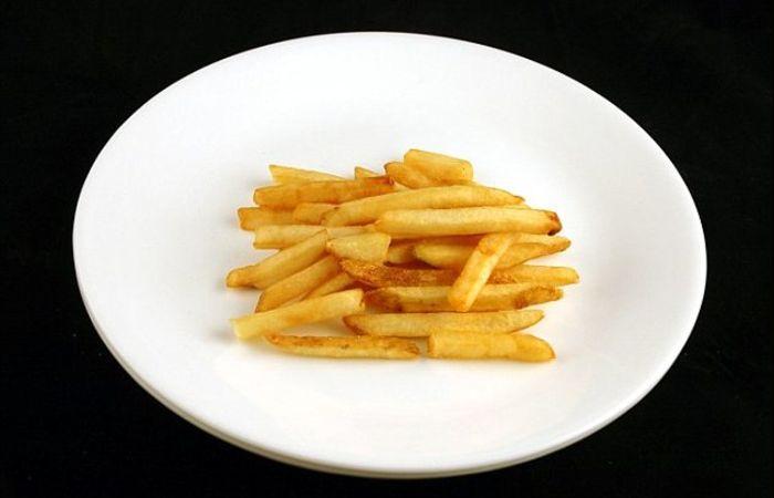 73 грамма картошки-фри = 200 калорий