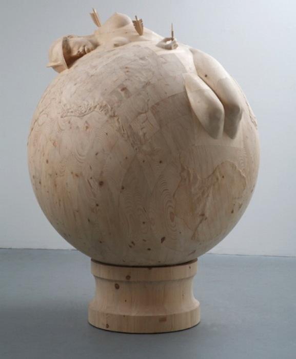 Деревянные скульптуры художника Morgan Herrin