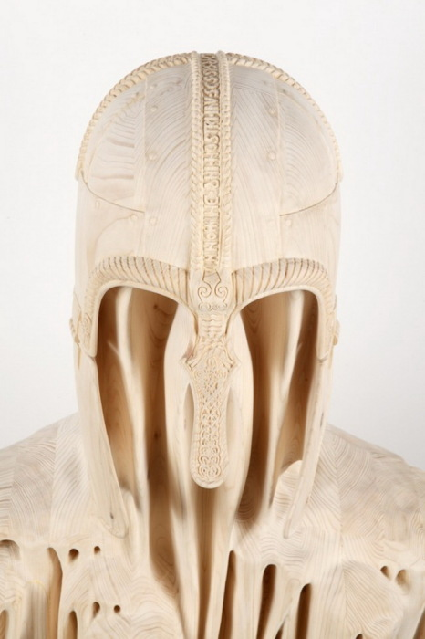 Деревянные скульптуры Morgan Herrin: Буратино 21 века