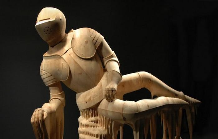 Деревянные скульптуры Morgan Herrin