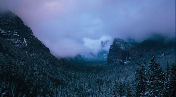 Yosemite National Park: горные массивы