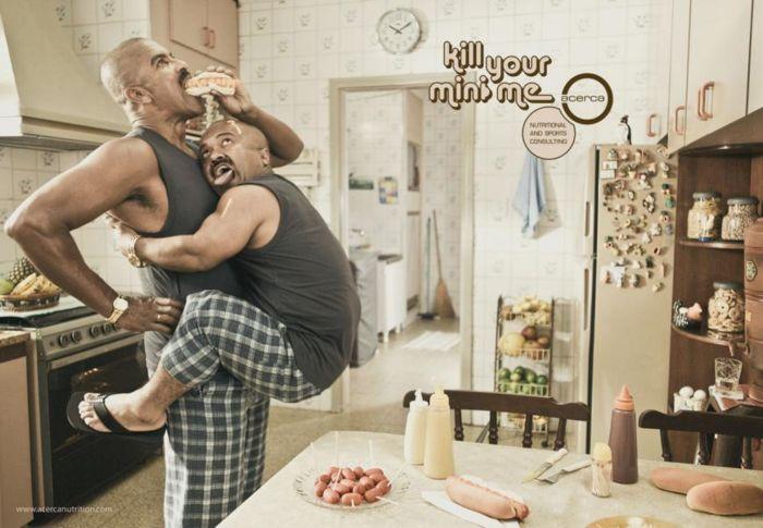 Реклама, которая помогает бороться с лишним весом