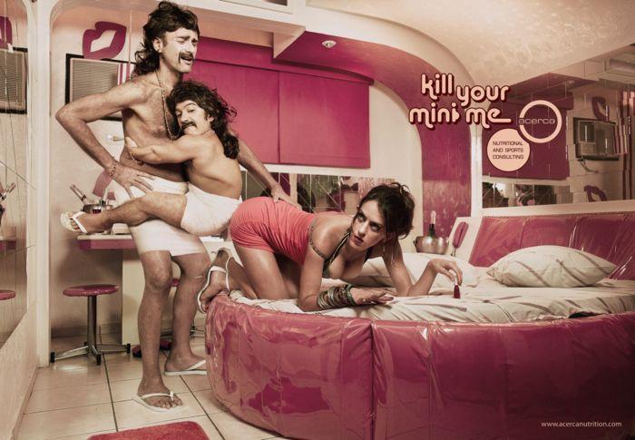 Kill your mini me: рекламная компания, которая борется с лишним весом