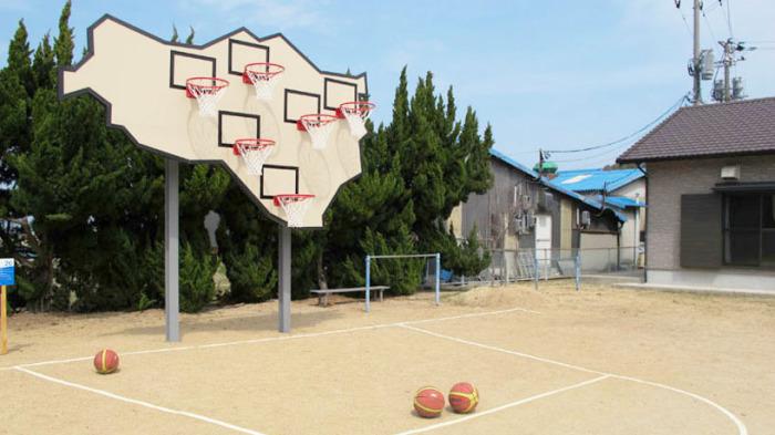 Баскетбольный щит с 6-ю кольцами: повышаем эффективность тренировки