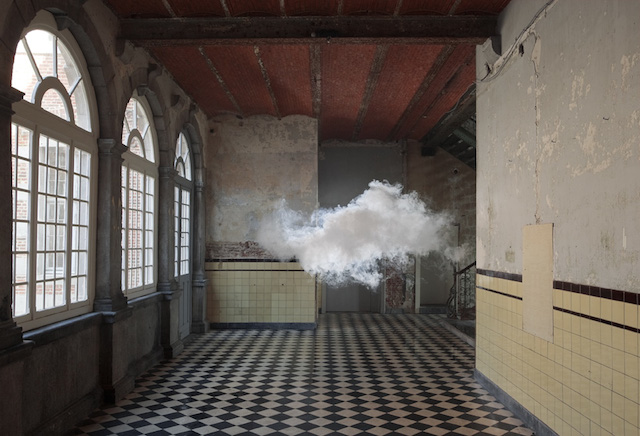 Облака от художника Berndnaut Smilde.